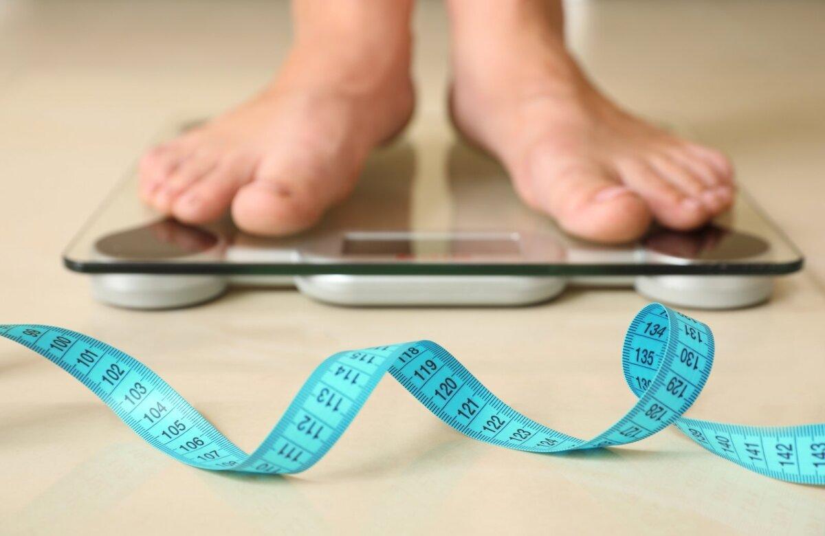 Nario dydis ir svorio netekimas